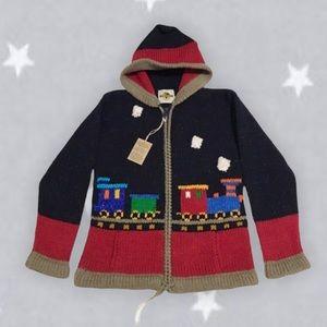 Earth Ragz zip up hooded sweater